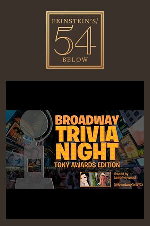 Broadway Trivia Night: 4th Annual Tony Awards Edition